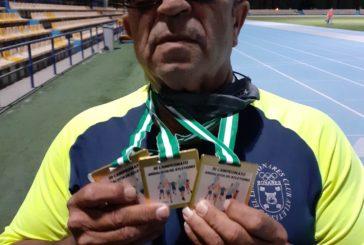El atleta isleño Toni Palma, cuatro veces de Oro