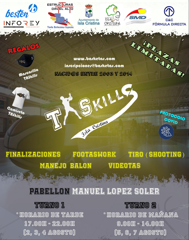 Jornadas TASkills Isla Cristina «BaskeTAS»