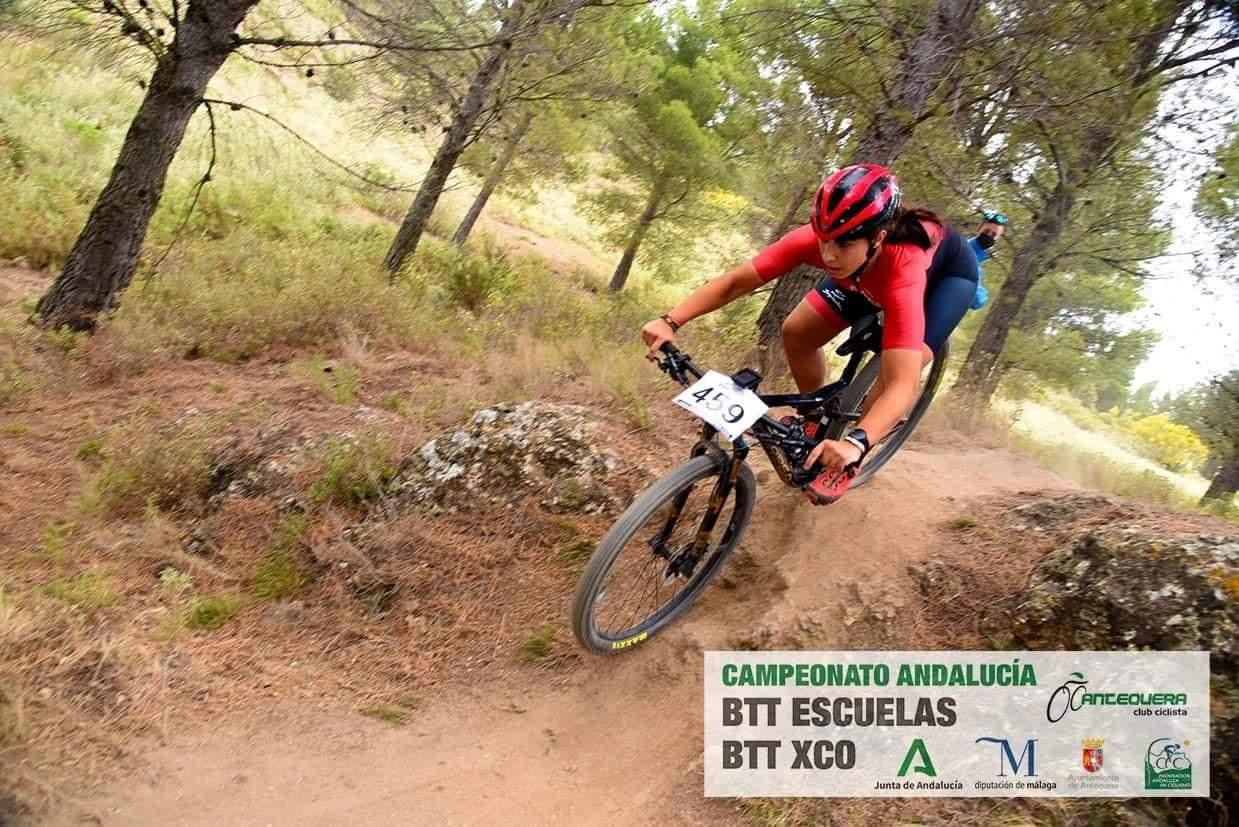 Cuarto puesto para Marta Núñez en el Campeonato de Andalucía BTT XCO
