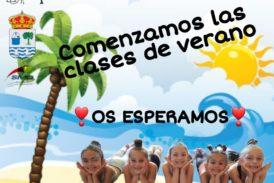 En marcha la Escuela de verano del Club de Gimnasia Rítmica