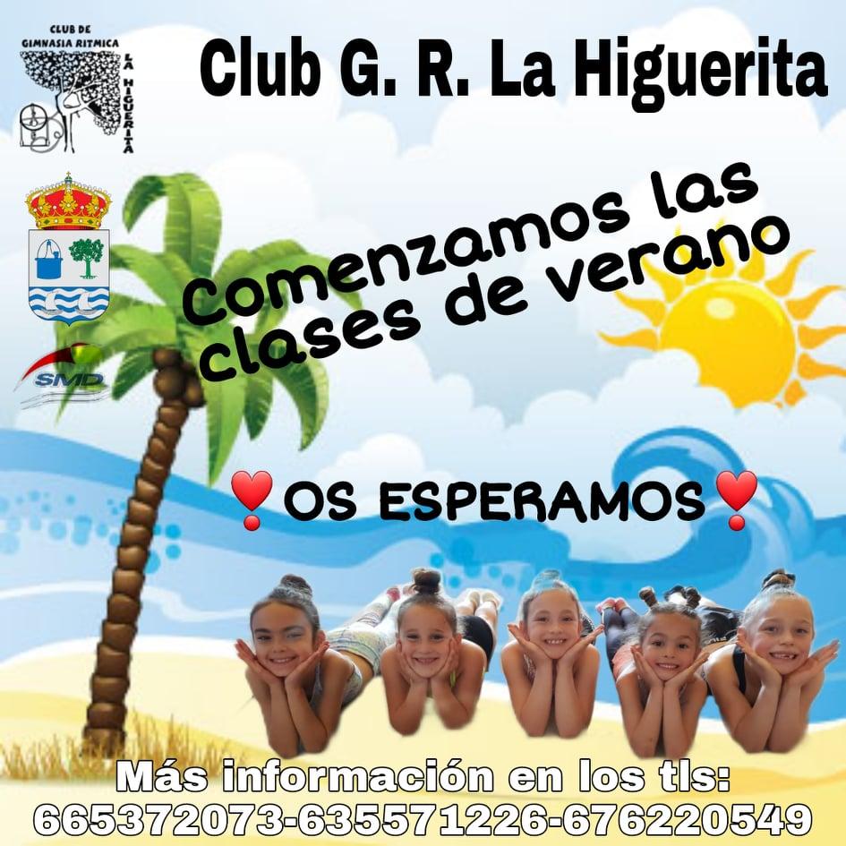 En marcha la Escuela de verano del Club de Gimnasia Rítmica «La Higuerita»