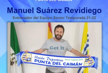 Manuel Suárez Revidiego renueva una temporada más con el Punta del Caimán