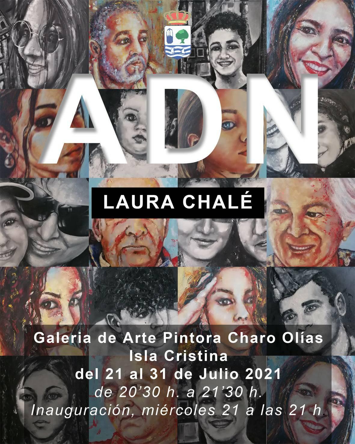 Isla Cristina acoge la Exposición de Laura Chalé: ADN