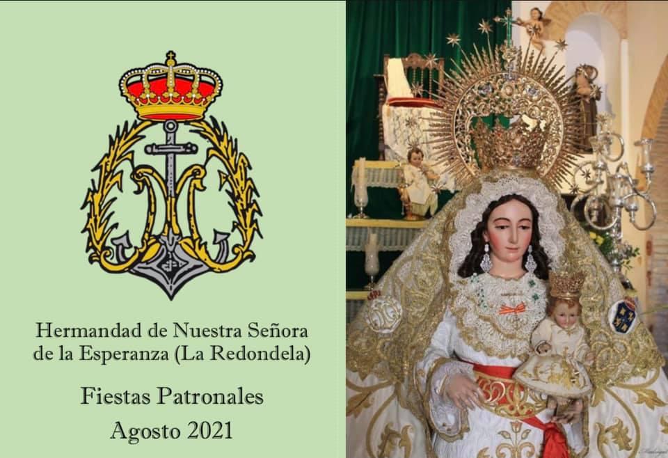 Programación Fiestas Patronales Nuestra Señora de la Esperanza «La Redondela»