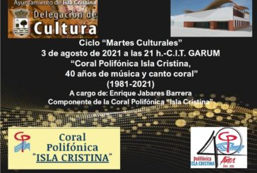 El 40 cumpleaños de la Coral Polifónica Isla Cristina en los Martes Culturales