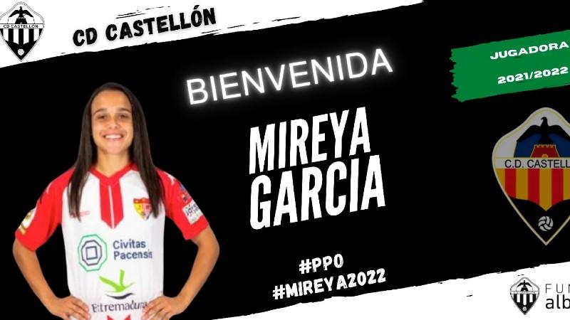 Mireya García jugará en el CD Castellón