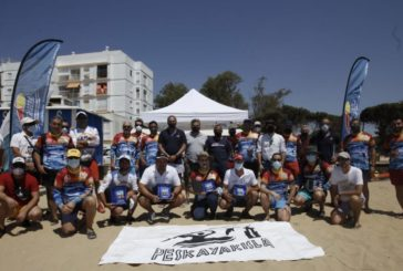 Celebrado en Isla Cristina el Campeonato Inter Club de pesca en káyac