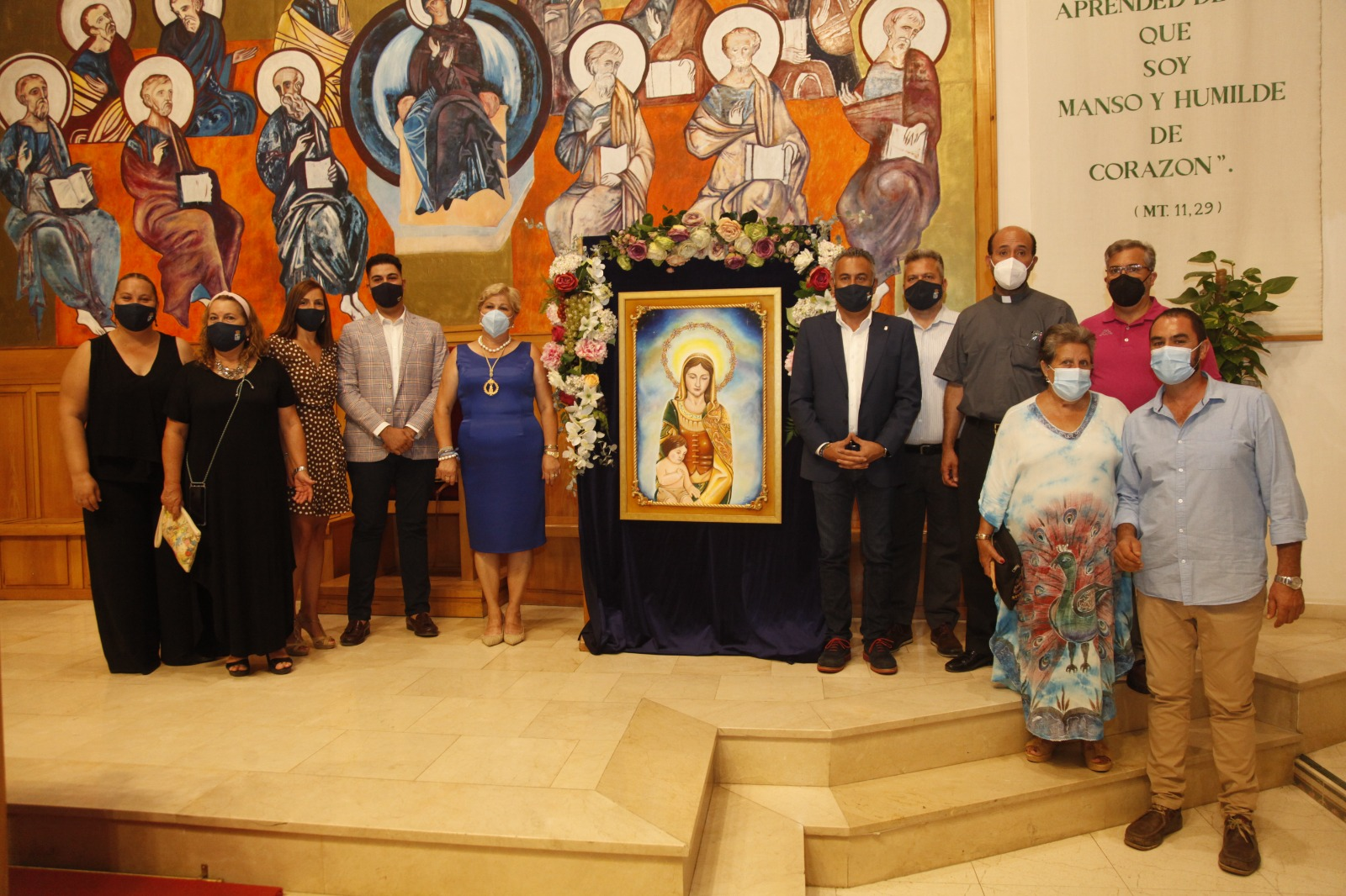 Presentado en Isla Cristina el cartel de las Fiestas en Honor a la Virgen del Mar