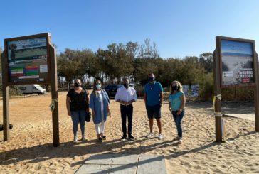 Inaugurada la segunda playa canina de Isla Cristina