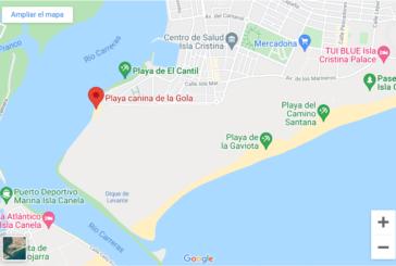 Isla Cristina cuenta con dos playas para perros