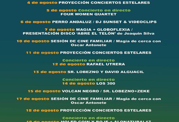 """Programación Cultural de Verano: Parque """"El Camaleón"""" Islantilla 2021"""