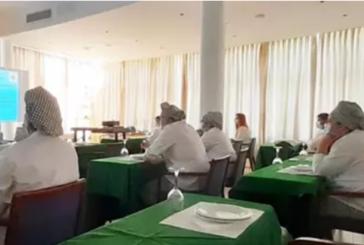 La Escuela de Hostelería de Islantilla ofrece talleres didácticos sobre productos como la caballa y la melva