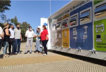 Giahsa presenta en Isla Cristina, un sistema de recogida de residuos a través de puntos limpios móviles