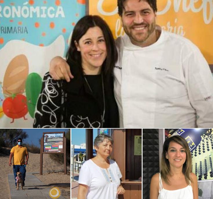 Xanty Elías y Cinta Jiménez en «Las Mañanas Isleñas» de Radio Isla Cristina