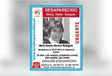 Buscan a una mujer desaparecida en Ayamonte