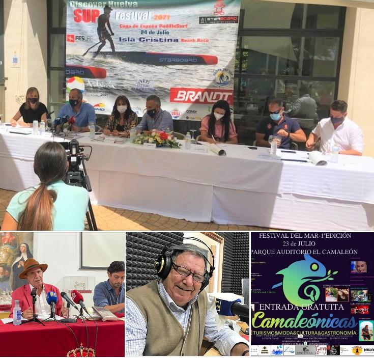 Diversidad de temas en «Las Mañanas Isleñas» de Radio Isla Cristina