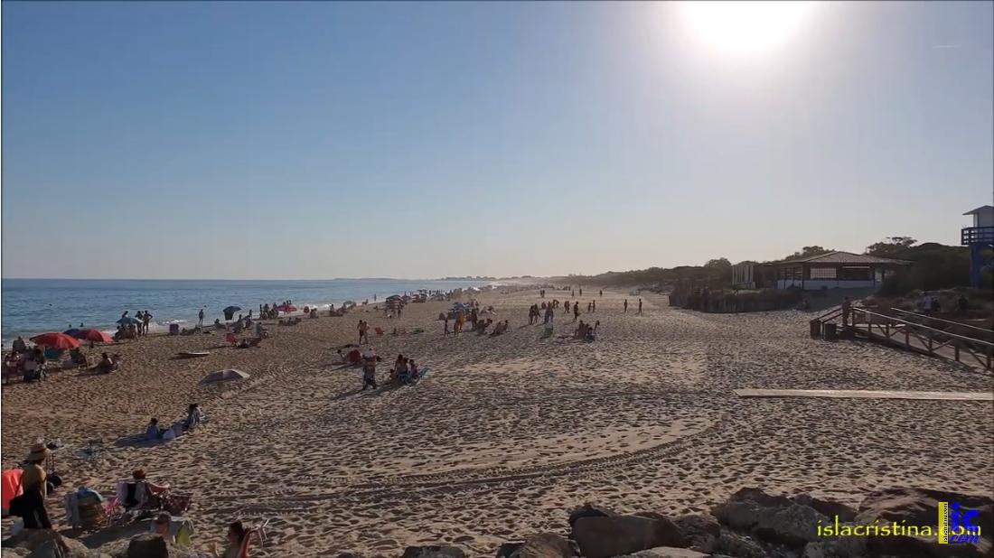 La provincia de Huelva cerró julio con una temperatura media de 25,9 grados