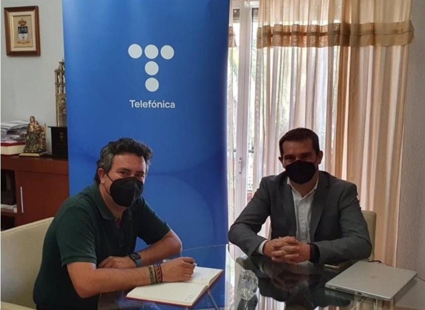 Movistar despliega fibra óptica en Islantilla