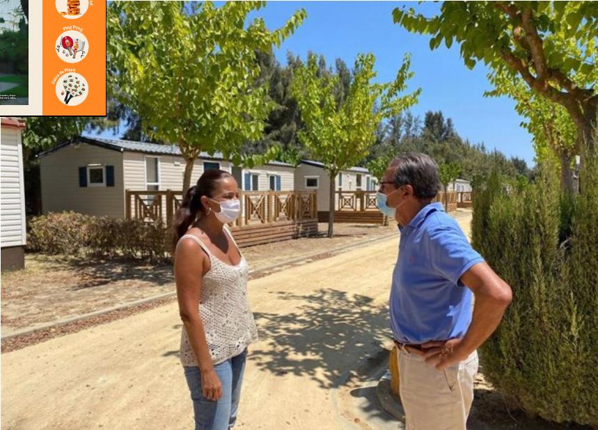 Turismo detalla a los propietarios de camping de la provincia el nuevo decreto de edificabilidad de la Junta