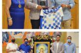La UD Punta del Caimán en la presentación del Cartel de las Fiestas en Honor a Ntra. Sra. Del Mar