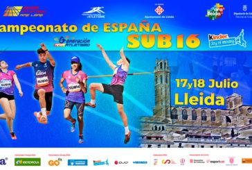 David Santana y Miranda Vázquez del Club Atletismo Isla Cristina disputan el Nacional sub 16