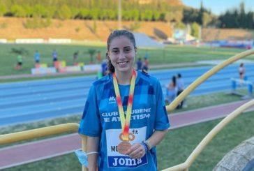 María Forero bronce Nacional sub 20 en 3000