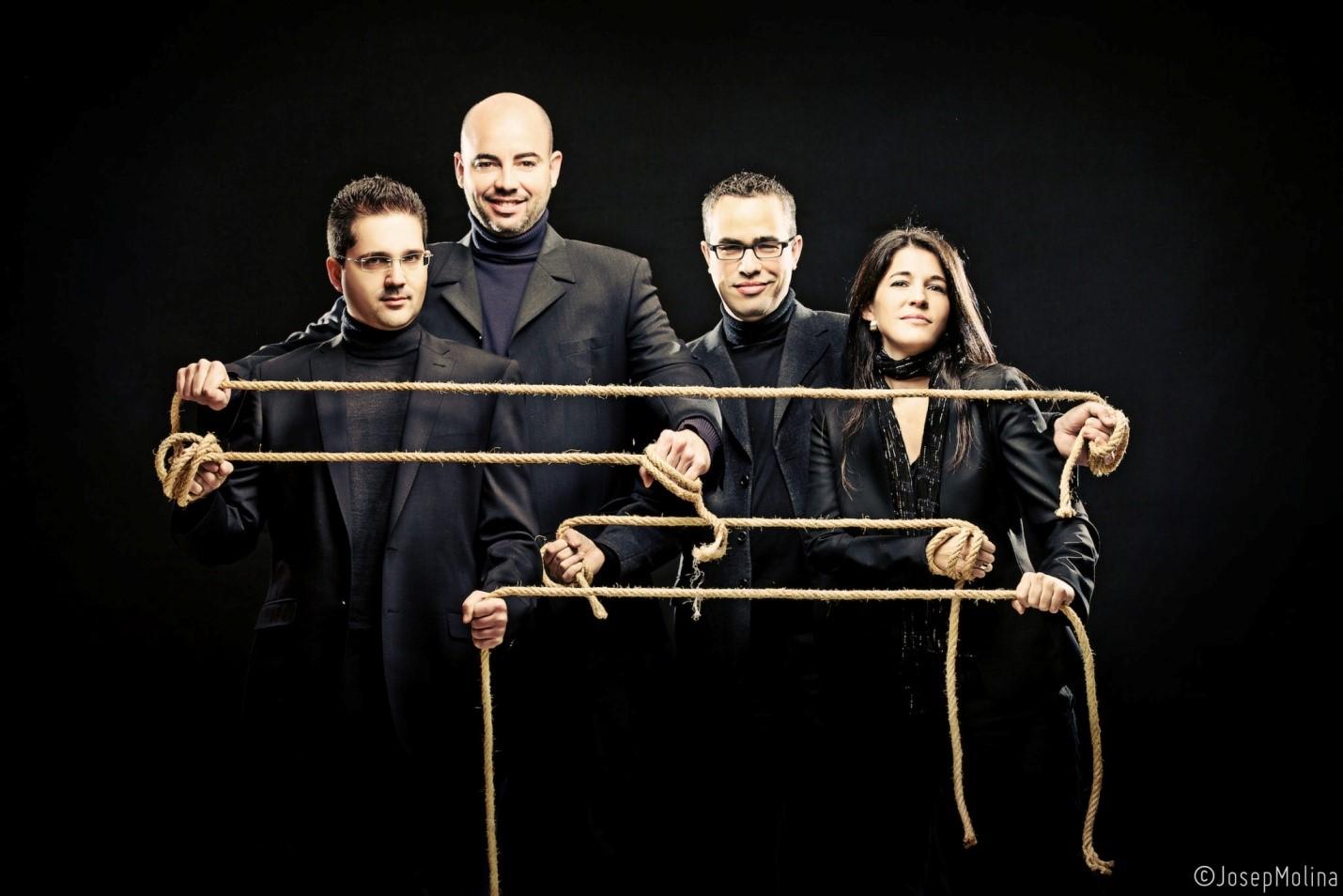 Cuarteto Quiroga, Premio 2021 del Internacional de Música de Isla Cristina