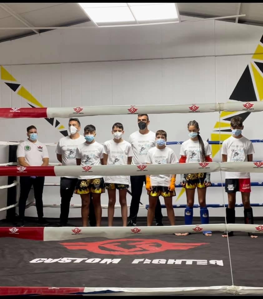 Buena recompensa de los luchadores del Club Mushindo en Chiclana