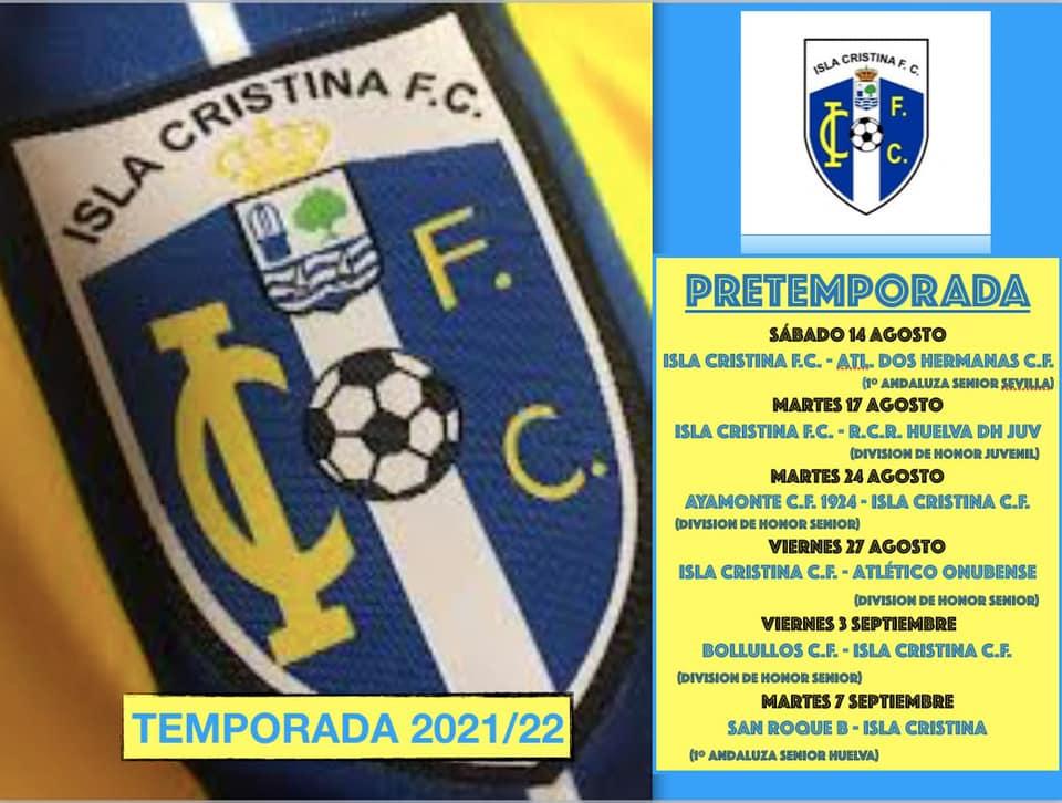 Calendario Pretemporada Isla Cristina FC