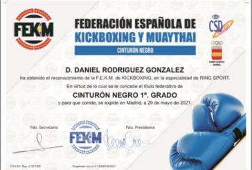 El luchador isleño Daniel Rodríguez obtiene la titulación de Cinturón Negro