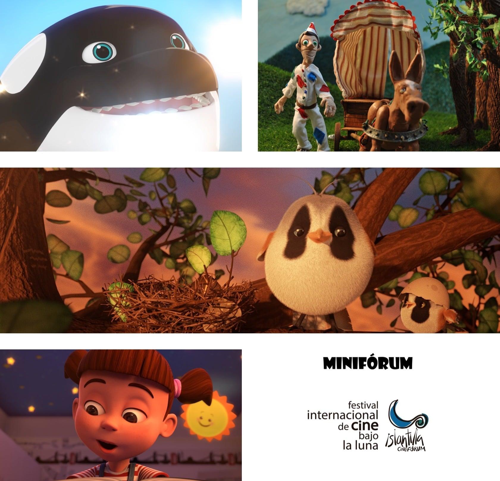 Hoy miércoles en Islantilla «MINIFÓRUM» Ciclo de cine infantil