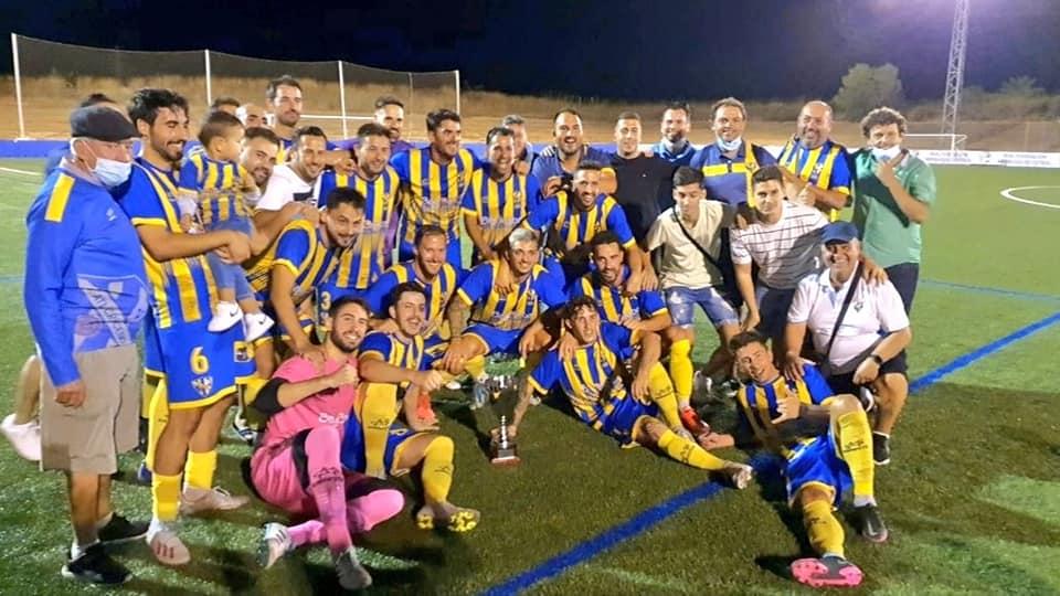 El Atlético Cruceño Campeón de la Copa 2ª Andaluza Sénior de Huelva
