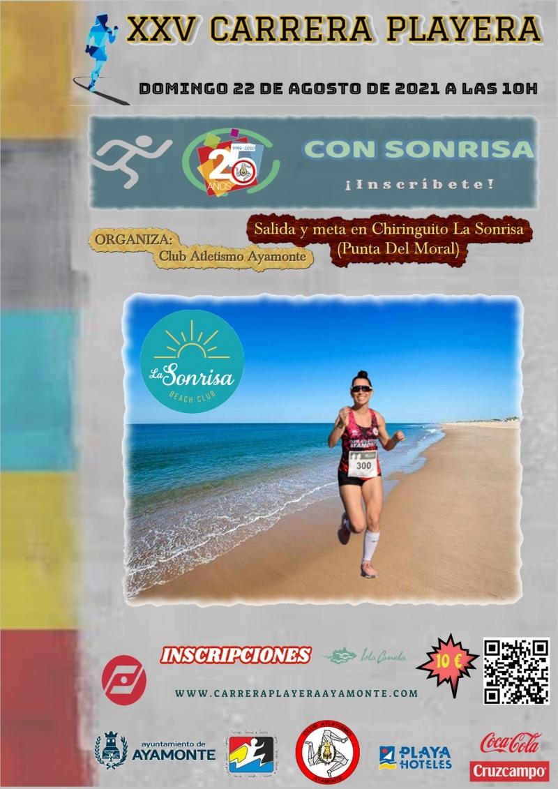 Carrera Playera «Con Sonrisa» en Ayamonte