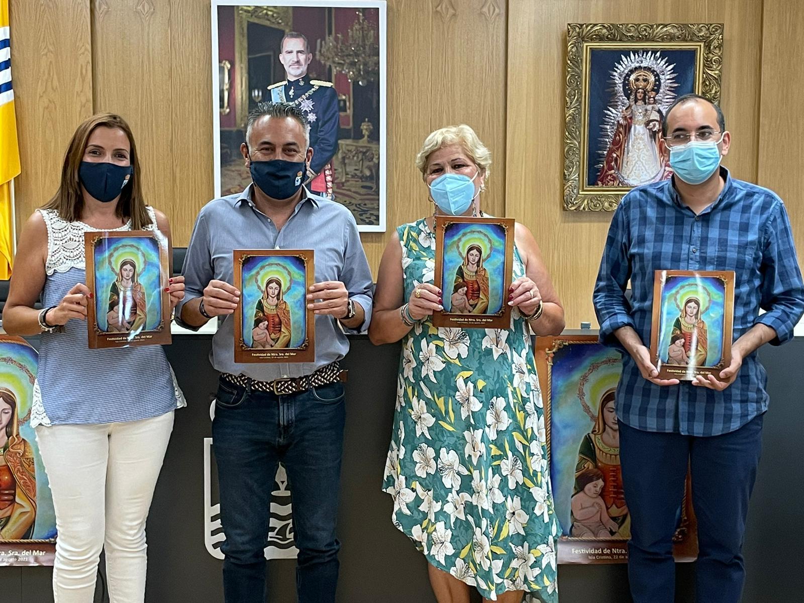 Presentada en Isla Cristina la revista y la programación de las Fiestas en Honor a la Virgen del Mar