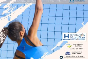 El Circuito Provincial de Voley Playa recala en Isla Cristina