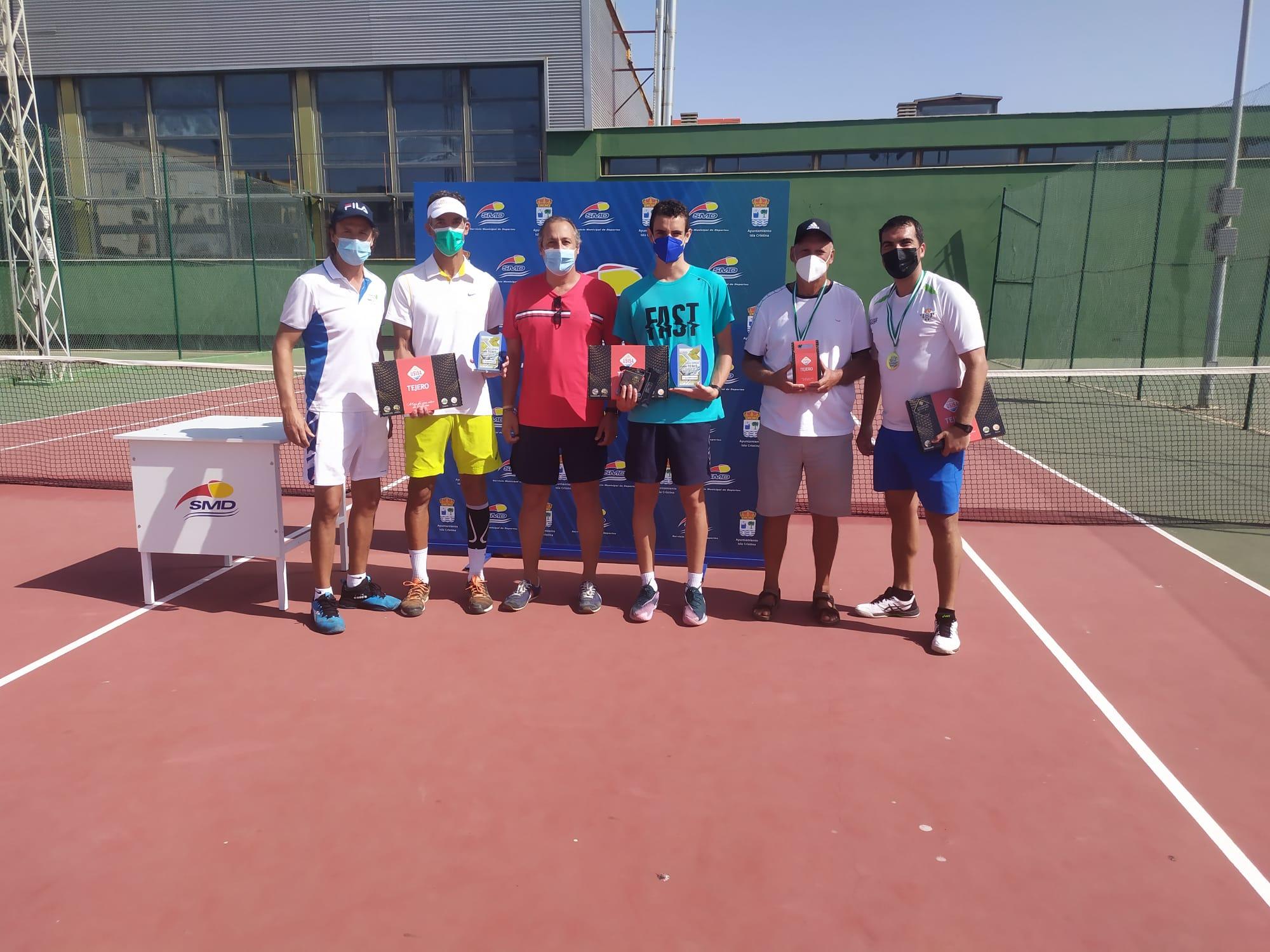 Celebrado el XXIII Open de Tenis Ciudad de Isla Cristina