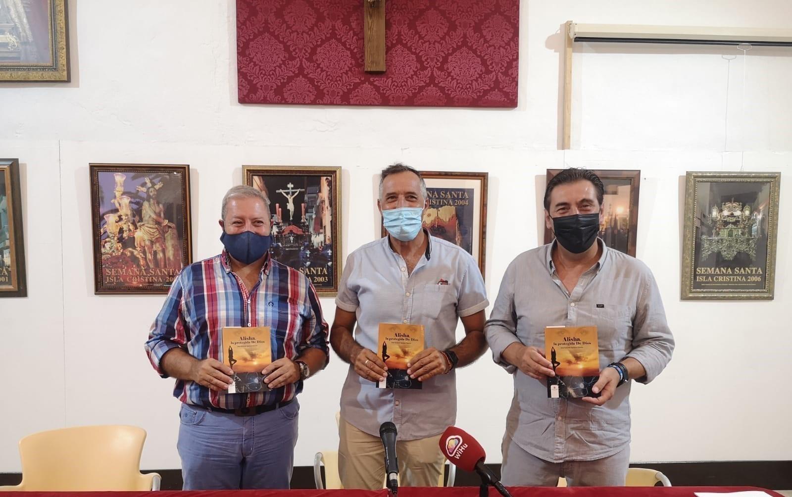 José Antonio Ignacio, presenta  en Isla Cristina  su primer libro 'Alisha, la Protegida de Dios'