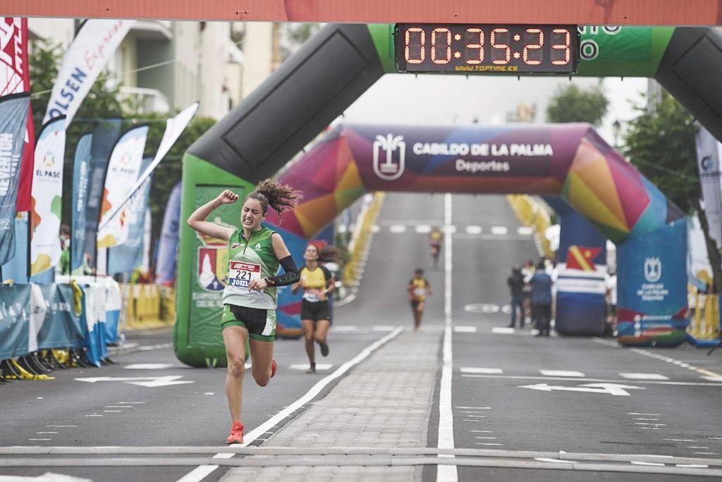 María Forero bronce y Hamza Aitmansour 4° con Andalucía en el Nacional de Trail