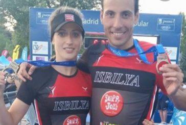 Samer Ali-Saad y Rocío Molas ganan la Nocturna Playas de Doñana