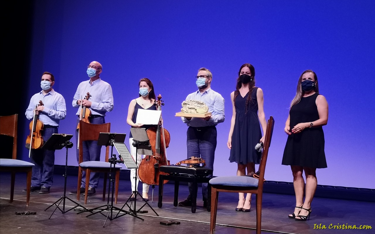 Isla Cristina. La actuación del Cuarteto Quiroga pone punto y final a la V Edición del FIMIC