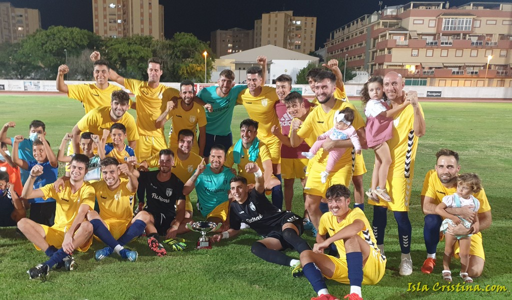 El Trofeo Ciudad de Isla Cristina se queda en casa