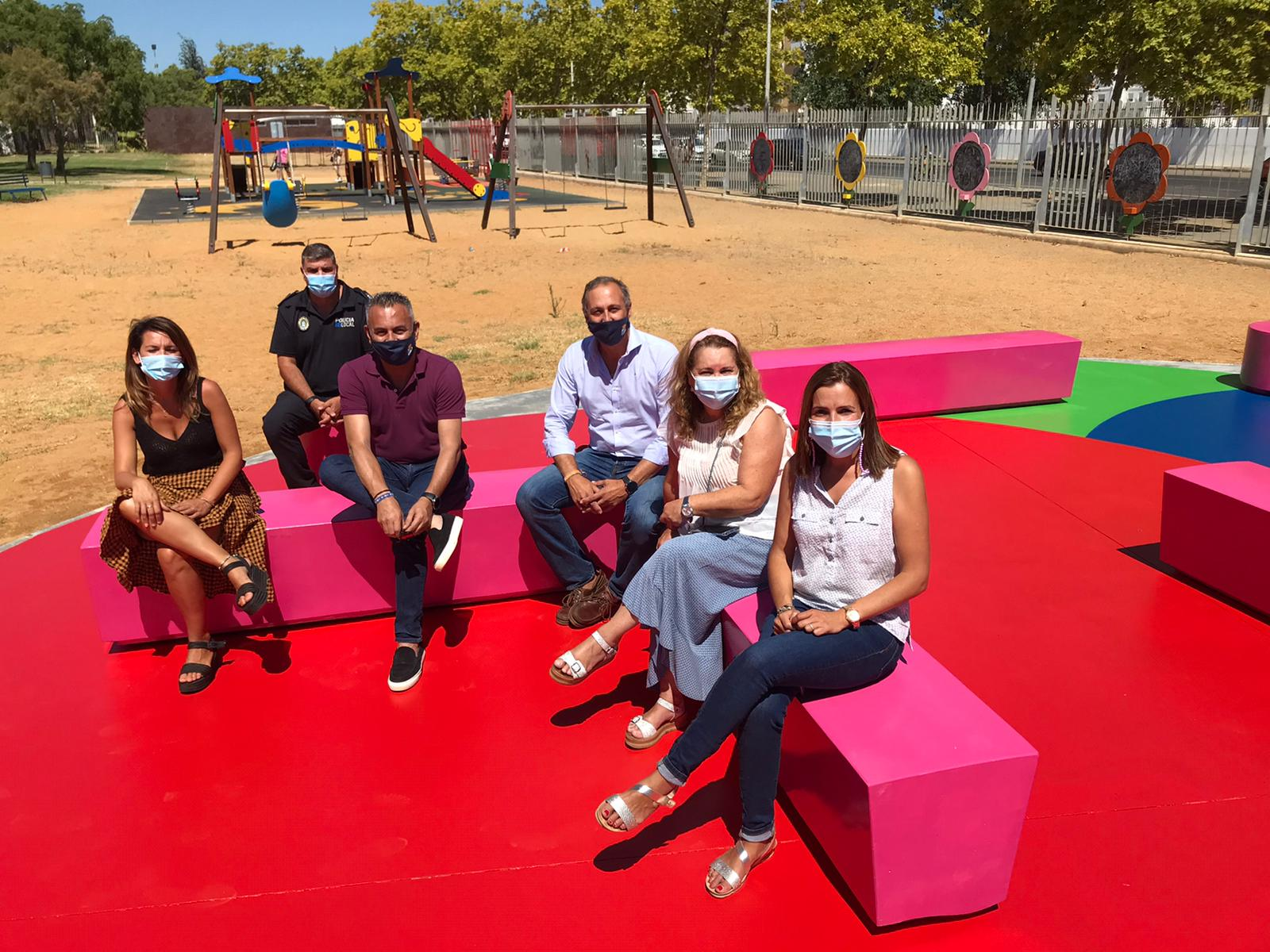 Inaugurada la zona de esparcimiento familiar del Parque Infantil de Isla Cristina