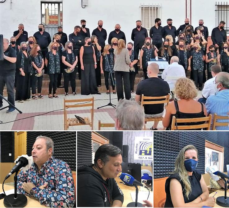 Lunes cultural en las «Mañanas Isleñas» de Radio Isla Cristina