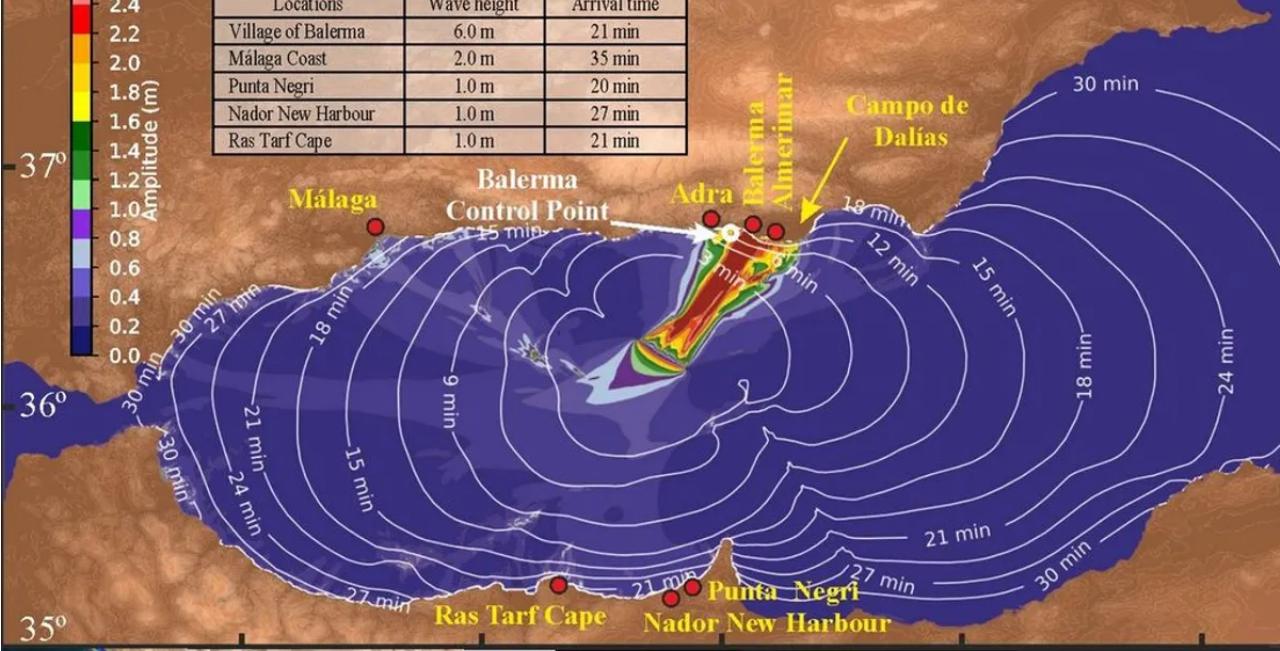 El CSIC alerta de la posibilidad de tsunami en el sur de España