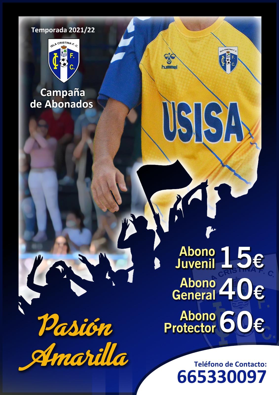 En marcha la campaña de captación de abonados del Isla Cristina FC