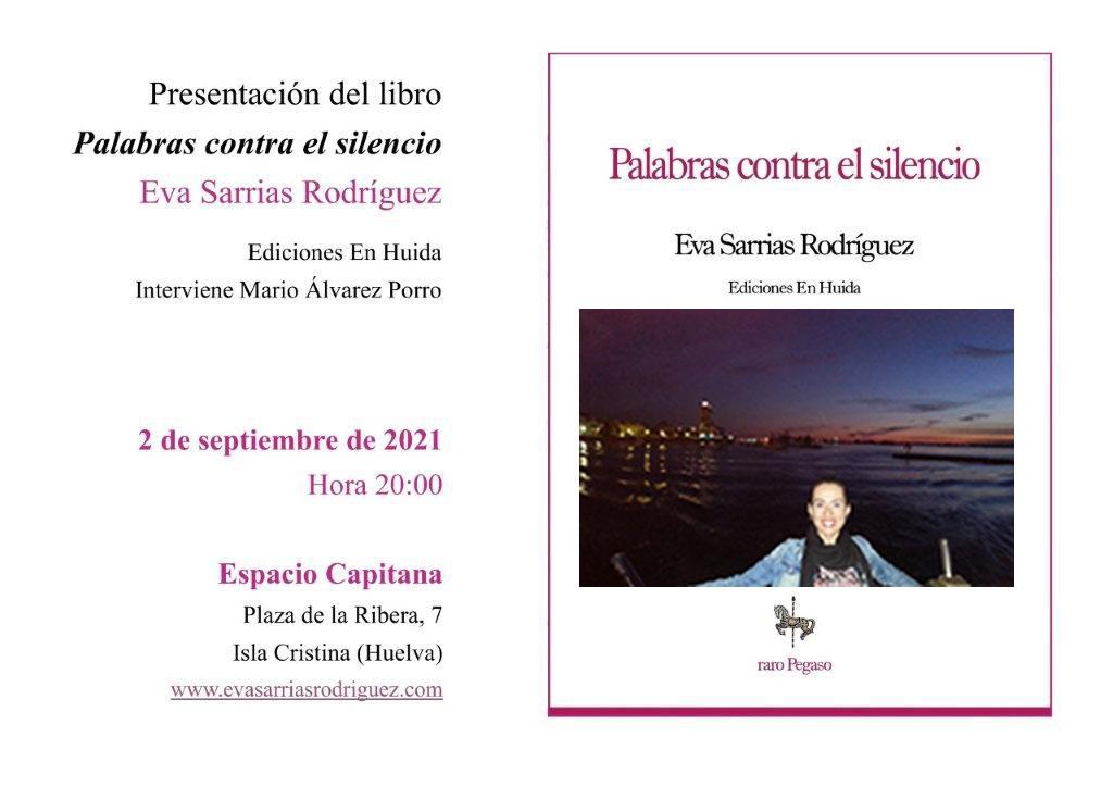 Presentación de 'Palabras contra el silencio', de la escritora isleña Eva Sarrias Rodríguez