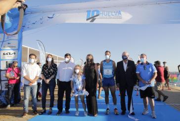 Zakaria Boufaljat y Dolores Chiclana se alzan con la III Edición de la 10K Huelva