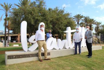 Inaugurado el nuevo punto de encuentro y photocall selfie de Islantilla