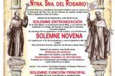 Solemnes Cultos en Honor a Ntra. Sra. del Rosario de Isla Cristina