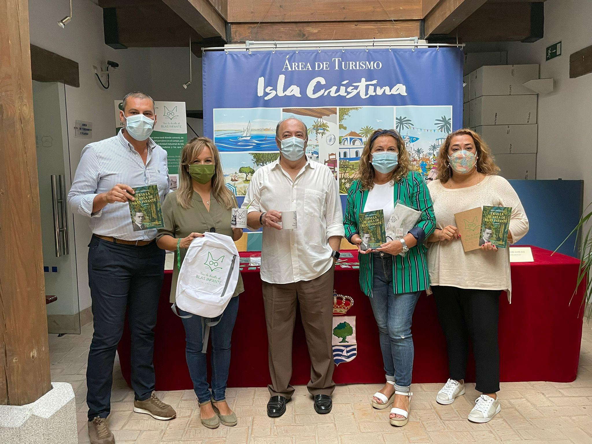 La Concejalía de Turismo da a conocer la Ruta de Blas Infante y el material promocional relacionado con el Padre de la Patria Andaluza